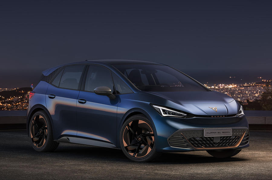 CUPRA's first all-electric vehicle El-Born