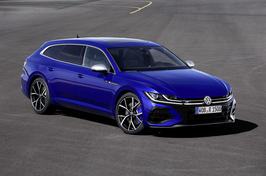 Volkswagen Arteon gets Shooting Brake Variant with top R model