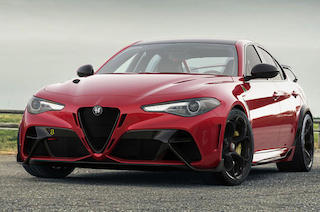 New Alfa Romeo Giulia GTA