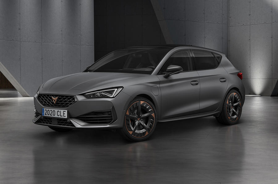 Cupra Leon eHybrid plug-in hot hatch revealed