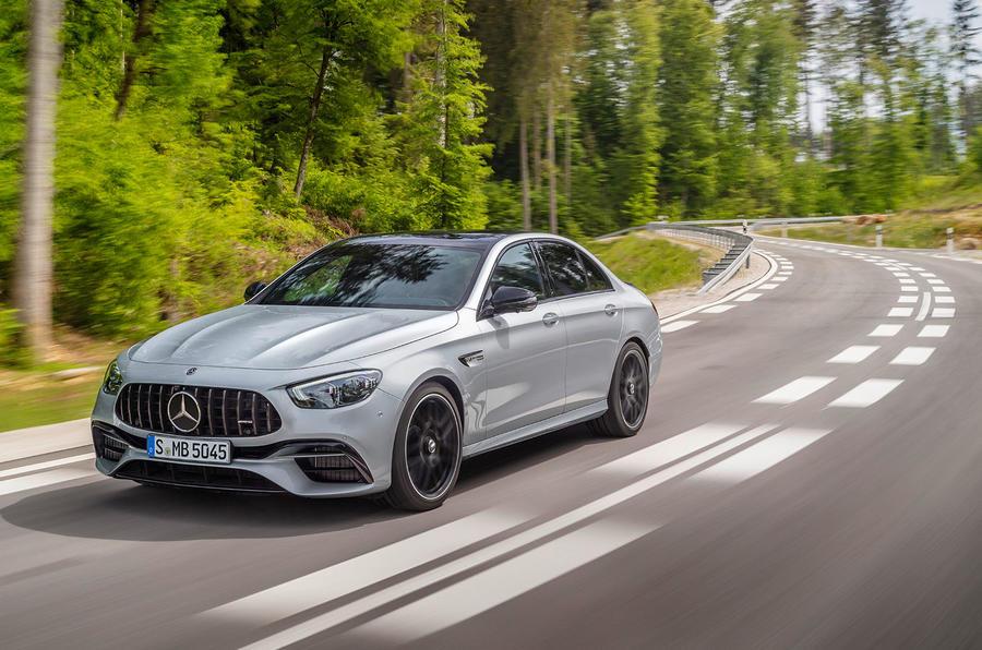 New Mercedes-AMG E63s
