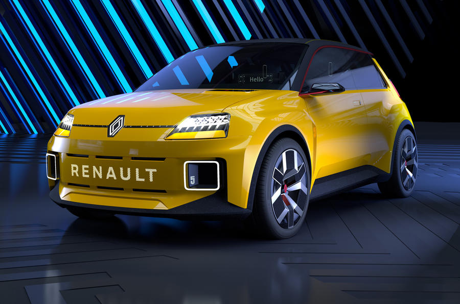 Renault 5 reborn as pure electric concept