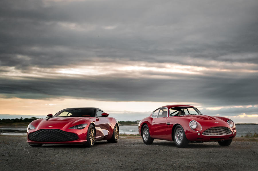 Ultra exclusive Aston Martin DBS GT Zagato revealed