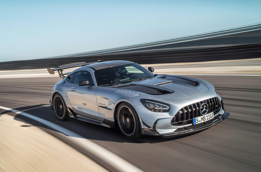 2021 Mercedes AMG GT Black Series