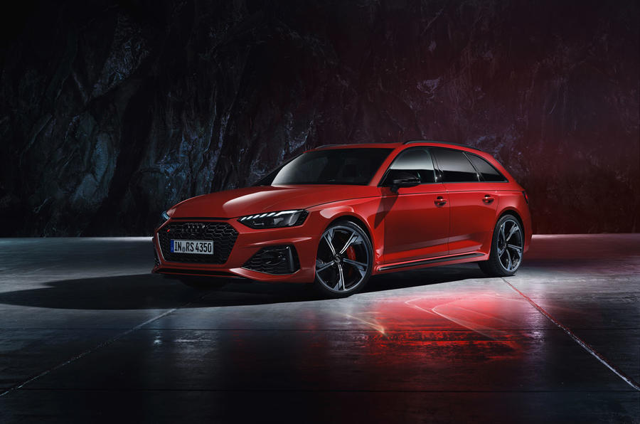 Audi updates RS4 Avant with sharper looks