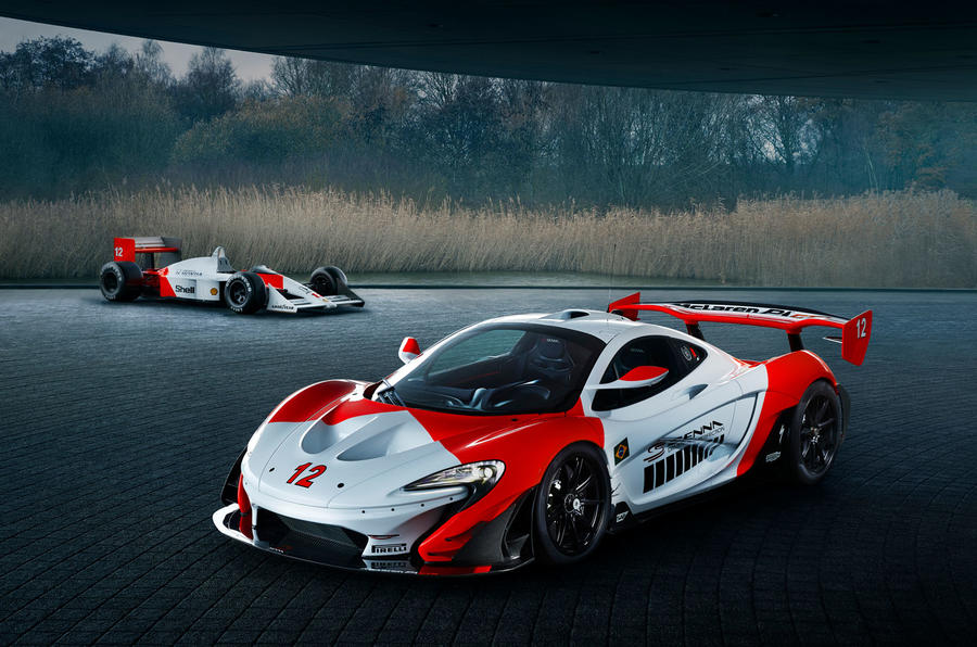 McLaren P1 GTR inspired by Ayrton Senna