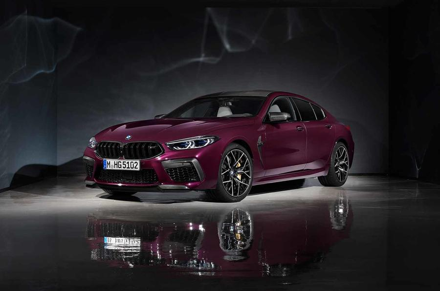 BMW's 616bhp M8 Gran Coupe revealed